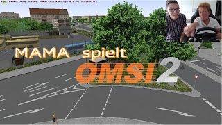 Download Meine MAMA spielt OMSI 2 - ″Was will der denn da auf der Straße?″ Video