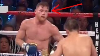Download The moment Canelo feared Golovkin. The eyes never lie. (HD) Video