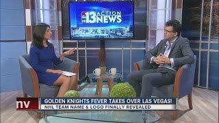 Download John Katsilometes talks Golden Knights Video