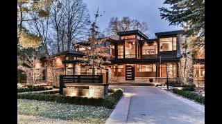 Download Unique Contemporary Custom Build House Oakville | Virtual Tour Video