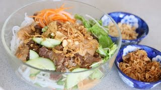 Download Grilled Pork Noodle Salad (BUN THIT NUONG) Video