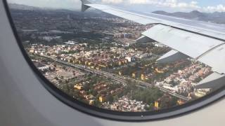 Download Airbus A380-800 (upper deck) Air France | Paris (CDG) - Mexico City (MEX) | Sunny landing (HD) Video
