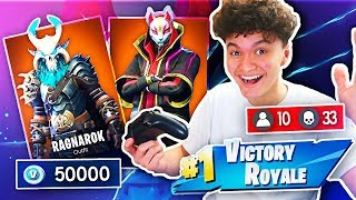 Download 1 WIN = ALL *NEW* SEASON 5 SKINS FOR LITTLE BROTHER (Fortnite Free Skin Challenge) Video