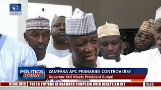 Download Gov. Yari Meets President Buhari Over Zamfara Primaries Controversy |Politics Today| Video