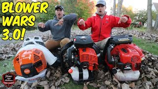 Download Blower Wars 3.0! Testing The New STIHL BR800 & ECHO PB-8010 Backpack Blowers Video
