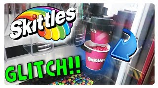 Download INSANE SKITTLES VENDING MACHINE GLITCH (YOU WONT BELIEVE WHAT HAPPENED) Video