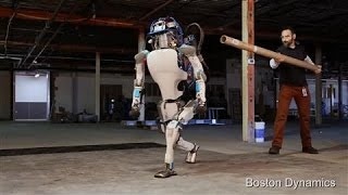 Download Atlas the Humanoid Robot in Action Video