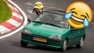 Download Funny Moments at the Nürburgring - Nordschleife Crazy & Funny Compilation Video Video
