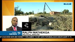 Download Ralph Mathekga unpacks NW situation Video
