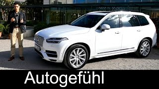 Download All-new Volvo XC90 T8 Plugin-Hybrid twin engine Inscription trim REVIEW test drive - Autogefühl Video