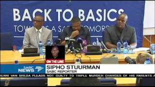 Download Ntlemeza's presence at the Hawks offices unlawful: Mbalula Video