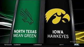 Download North Texas at Iowa - Football Highlights Video