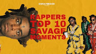 Download Rappers Top 10 Savage Moments Video