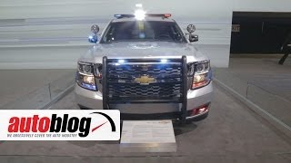 Download 2015 Chevrolet Tahoe Police Pursuit Vehicle | 2014 Chicago Auto Show Video