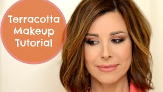 Download Dramatic Terracotta Makeup Tutorial Video