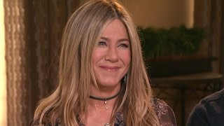 Download EXCLUSIVE: Jennifer Aniston Says Her Life Is 'Peaceful,' Talks Jake Gyllenhaal's Crush on Her Video