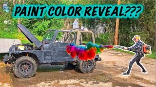 Download Stolen Recovery Jeep Gets New Paint! Video