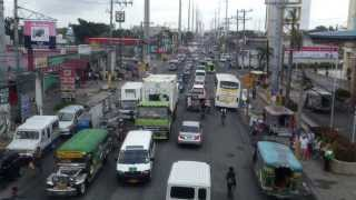 Download Traffic in the Philippines Video