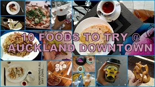 Download 10 Foods To try around Queen Street in Auckland Central, New Zealand Video