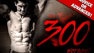 Download HOME ″300″ WORKOUT (Bodyweight Only!!) Video