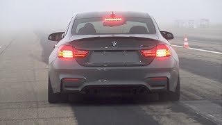 Download 740HP BMW M4 F82 RRahmani Stage 3 - Revs, Top Speed Accelerations & Drag Race! Video