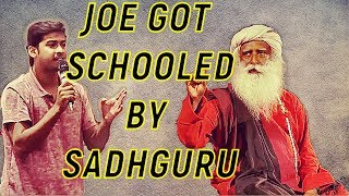 Download Arrogant student's provocative challenge to sadhguru Video