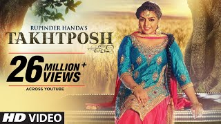 Download Rupinder Handa: TAKHATPOSH (Full Video Song) | Desi Crew | New Punjabi Songs 2016 Video