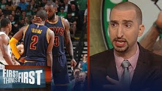 Download Nick Wright reacts to Kyrie apologizing to LeBron, asked for advice | NBA | FIRST THINGS FIRST Video