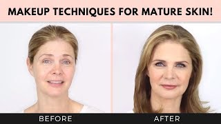 Download Makeup Techniques for Mature Skin over 40, 50! Dawn and Joseph Video