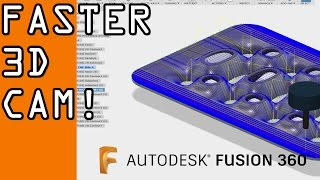 Download Fusion 360: Reducing Cycle Time on 3D Toolpaths! FF61 Video