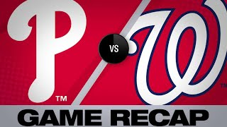 Download Dozier, Parra's HRs, Corbin lead Nats | Phillies-Nationals Game Highlights 6/19/19 Video