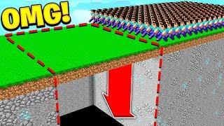 Download 1,000 FANS vs MINECRAFT DEATH RUN! 😈 Video