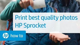 Download How to Print Best-Quality Photos | HP Sprocket Printers | HP Video
