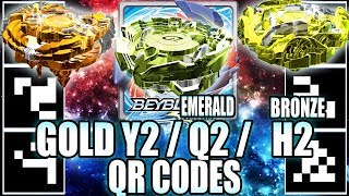 Download QR CODES GOLDEN YEGDRION BRONZE HORUSHOOD E QUETZIKO ESMERALDA! - BEYBLADE BURST APP QR CODES Video