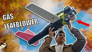 Download FLYING Leaf Blower RC Airplane Drone Video
