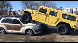 Download I Crushed a Chrysler PT Cruiser with a Hummer Video
