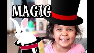 Download THE TRICKIEST MAGIC TRICK! - ItsJudysLife Vlogs Video