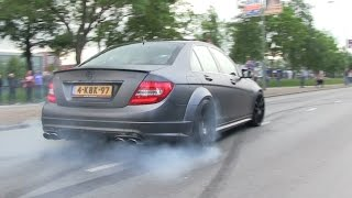 Download Supercars Leaving | Cars & Coffee Dordrecht | CRAZY BURNOUTS, DRIFTS & ACCELERATIONS! Video