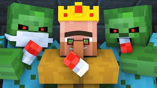 Download Zombie vs Villager Life 5 - Alien Being Minecraft Animation Video