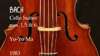 Download Bach Cello Suites nos 1,5 & 6 Yo Yo Ma 1983 Video