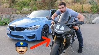Download I Found A Motorcycle with COP LIGHTS and Launch Control!!! Video