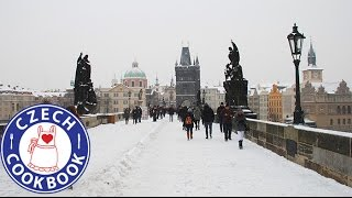 Download Winter wonderland in Prague and Pilsen Czech Republic Video