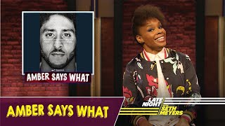 Download Amber Says What: Nike's Colin Kaepernick Ad, Aretha Franklin's Funeral Video