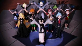 Download [MMD] Heroes Tonight Pokemon Animation Video