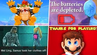 Download Evolution of 4th Wall Breaks in Nintendo Games (1986 - 2019) Video