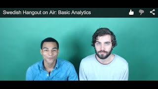 Download Swedish Hangout on Air: Basic Analytics Video