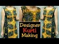 Download Latest ,trending kurti cutting and stitching /with potli design and side dori Video