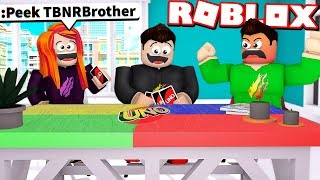 Download LITTLE SISTER CHEATS and TROLLS MY LITTLE BROTHER in ROBLOX UNO! Video