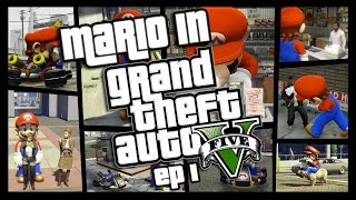 Download Mario in GTA 5 EP 1 | BEST GTA 5 MOD EVER!!! Video