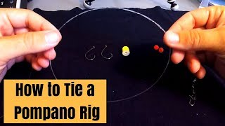Download How to Tie a Pompano Rig for Surf Fishing Video